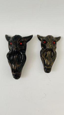Керамическая курительная трубка Сова с красными глазами