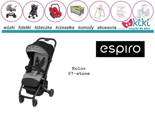 Wózek spacerowy dla dziecka Espiro Axel KOLEKCJA 2020 KOLOR różowy