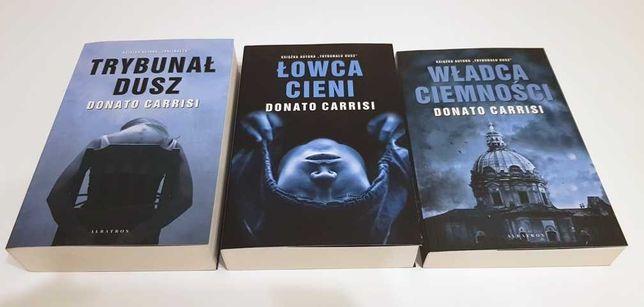 Donato Carrisi - Trybunał dusz, Łowca cieni, Władca ciemności.