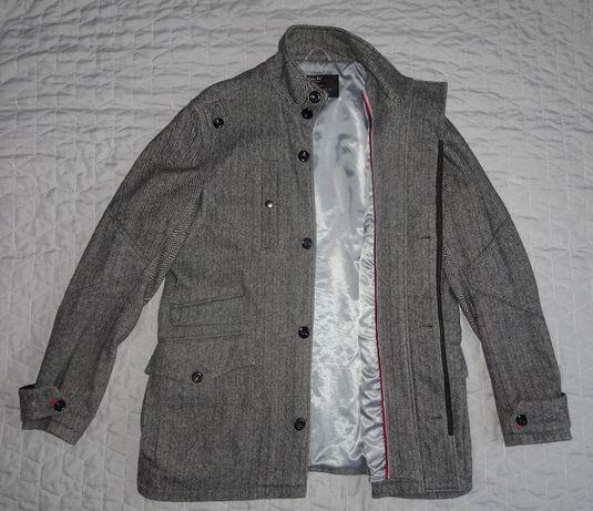 Wełniana kurtka jesienna Next - XL