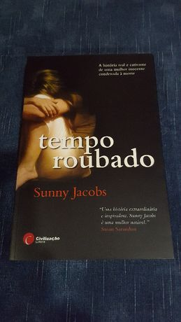 """Livro """"TEMPO ROUBADO"""" de Sunny Jacobs"""
