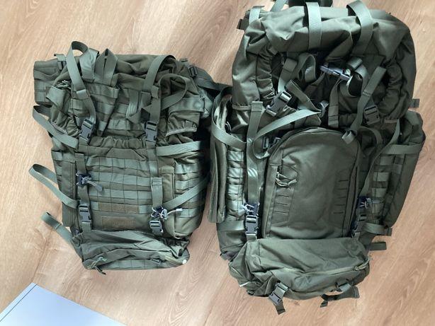 2szt plecak wojskowy 80 - 100 l oraz 50 - 70 l asg nowy warto