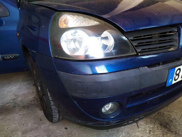 coluna direção, caixa velocidades Renault Clio 2 fase 2 1.2 16v
