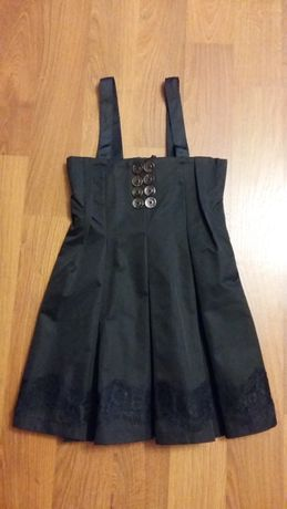 Школьный сарафан и блуза Тимоли р.122