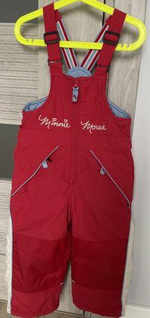 Spodnie H&M zimowe na śnieg, narciarskie 98