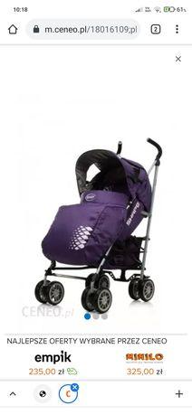 Wózek spacerowy kolor fioletowy