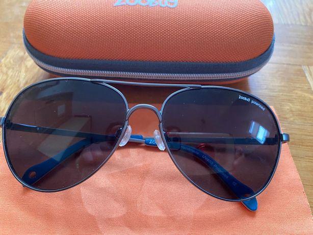 Okularki okulary słoneczne dla dziecka plus etui ZOOBUG