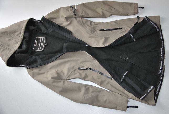 Ilse Jacobsen Hornbaek porządny płaszcz przeciwdeszczowy softshell S