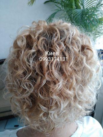 Биозавивка волос Mossa-(и другие)-Прикорневой обьём-выезд на дом -Киев