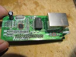 сетевая карта от тюнера Amiko 8900 HD -GI 8120
