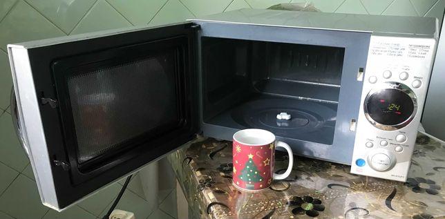 Микроволновая печь СВЧ с грилем LG MH-6352 FS Мікрохвильова піч НВЧ