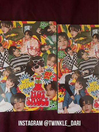 """альбом NCT DREAM """"Hot Sause"""" новый, запечатанный"""