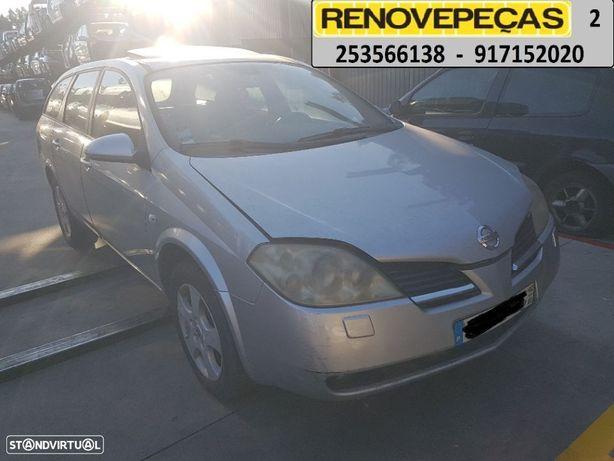 Para peças Nissan Primera 2.2 dti wagon de 2002