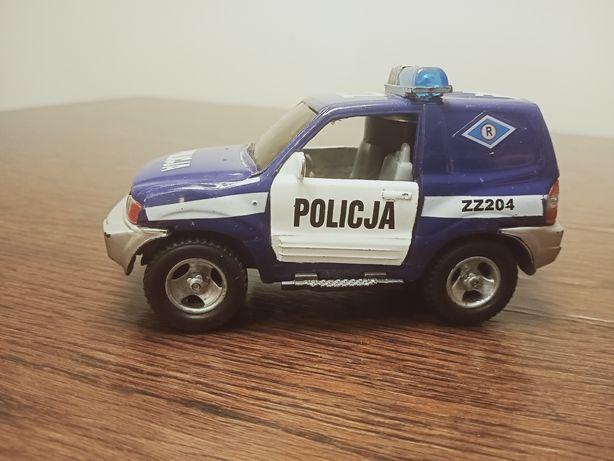 Autko Policja granatowe