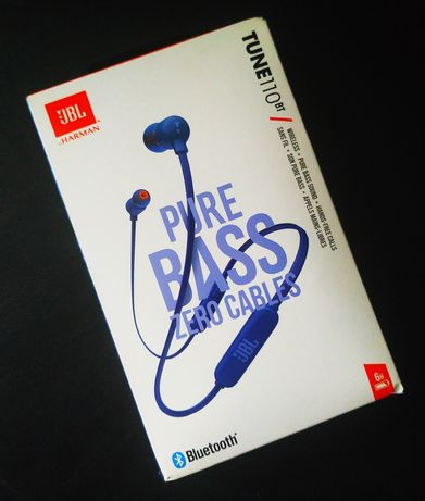 Блютуз наушники JBL Tune 110 BT Bluetooth earphones JBL Tune 110 BT