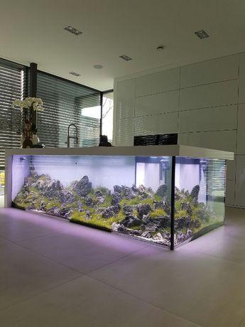 Akwarium na wymiar 100x40x50 optiwhite 8 mm PRODUCENT