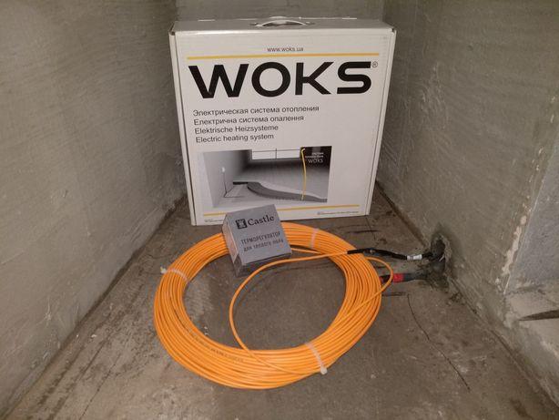 Теплый пол Украина (доступно и надежно) Woks, GrayHot,под плитку,м2