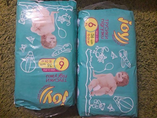 подгузники трусики памперсы Joy 6