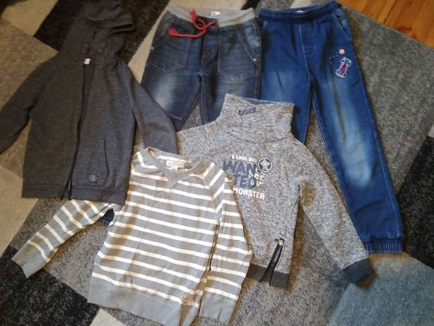 Ubrania dla chłopca 122-128