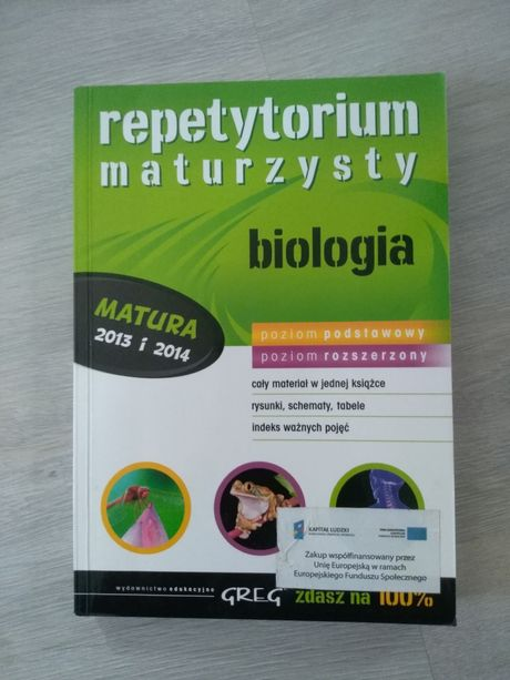 Repetytorium maturzysty biologia