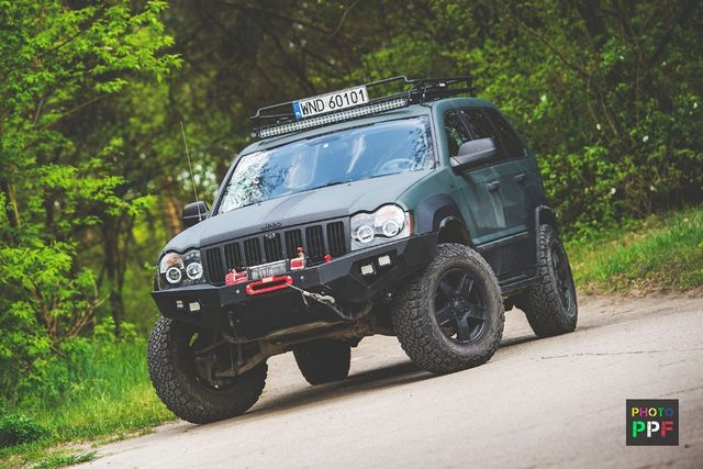 jeep grand cherokee WK 4x4 off-road V6 Lpg