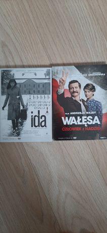 Film DVD Pawlikowski - Ida, Wajda Wałęsa człowiek z nadziei.Nowe folia