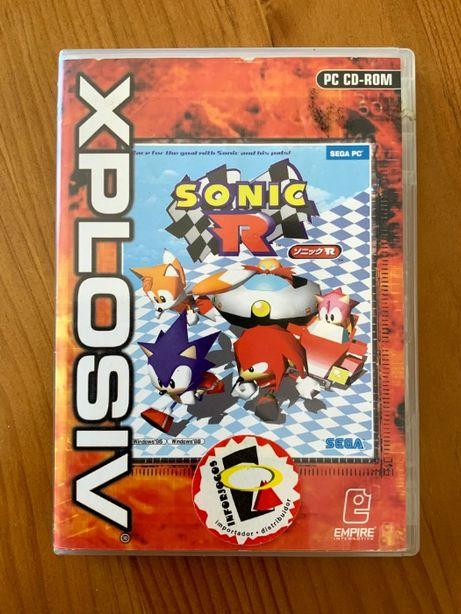 Vendo jogo Sonic R para PC