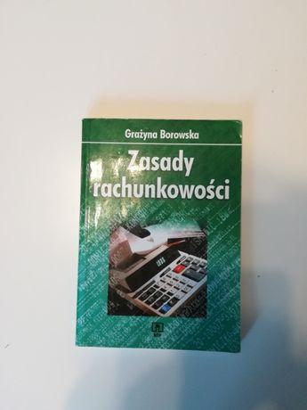 Książka Zasady Rachunkowości Grażyna Borowska