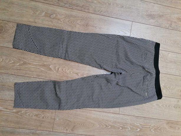 Spodnie orsey bialo-czarne