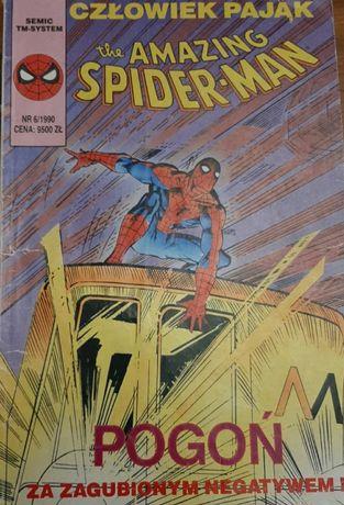 Komiks Spider-Man Amazing POGOŃ 6/1990, Komiks
