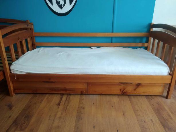Dwa łóżka dziecięce, młodzieżowe o wymiarach 80x180