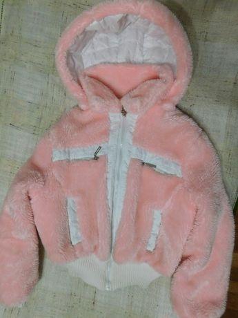Куртка/шуба плюшевая