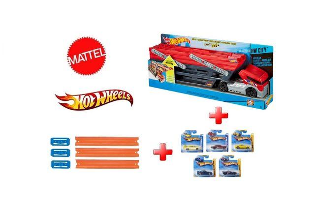 Mattel Hot Wheels® Mega Hauler™ GHR48 CKC09 Автовоз set#001 Хот Вілс