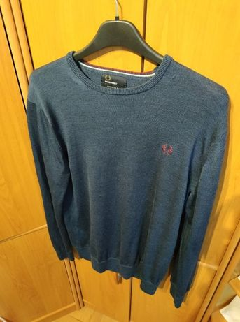 Fred Perry merino wool sweter