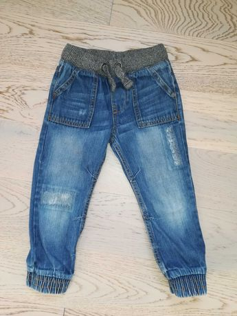 Spodnie jeansowe F&F rozmiar 104