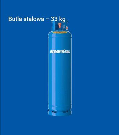 Butla gazowa 33kg, Gaz propan ogrzewanie, Gaz, Hanex, propan