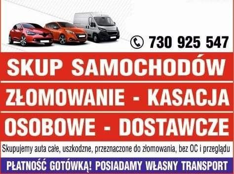 Skup aut, złomowanie, auto złom, Łącko, Szczawnica, Nowy Targ,Zakopane