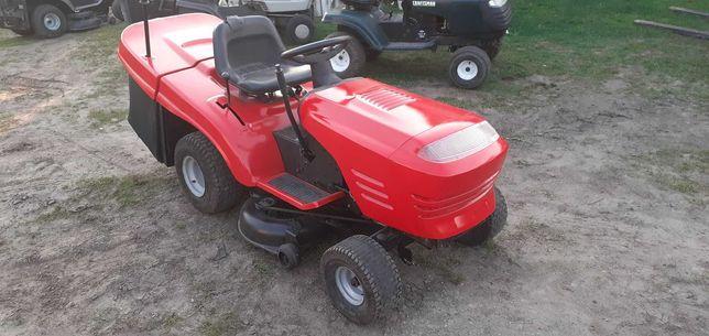 Kosiarka traktorek Jonsered Silnik Briggs 15KM Manual Kosz