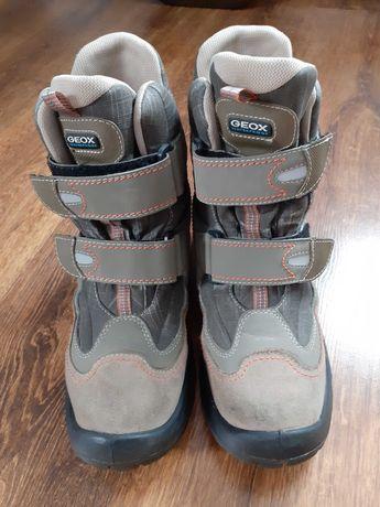 Buty na rzepy zimowe Geox