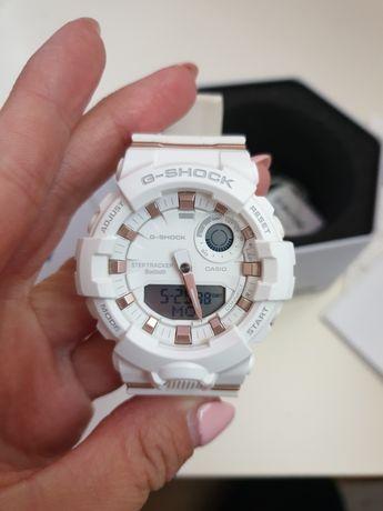 Zegarek Casio G- shock oryginalny, biały damski