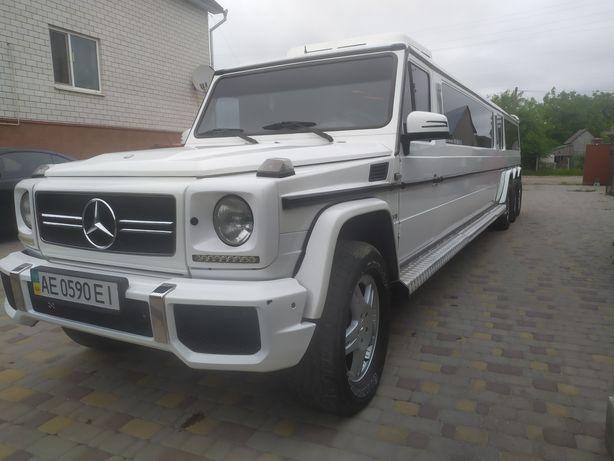 Лімузин Mercedes-Benz G500