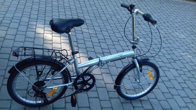 Rower składak składany z przerzutkami