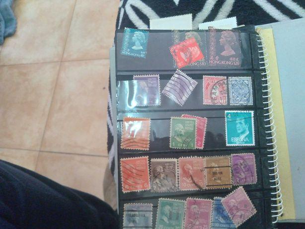 Selos coleção antigos