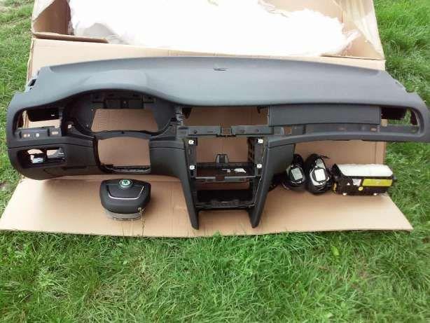 Торпеда skoda superb 2 superb 3 skoda octavia a5 a7 airbag подушка Запорожье - изображение 1