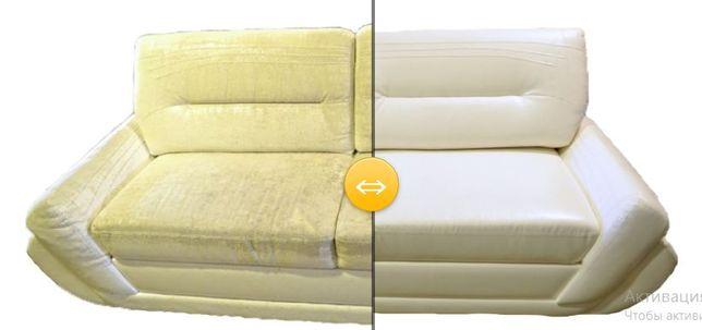 Перетяжка мягкой и реставрация корпусной мебели