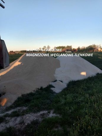 Wapno Nawozowe Magnezowe, Węglanowe, Tlenkowe, Kruszywa Drogowe 0-31,5