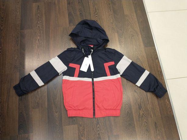 Nowa kurtka dla chłopca rozmiar 134/140 przejściowa Niebieski Księżyc