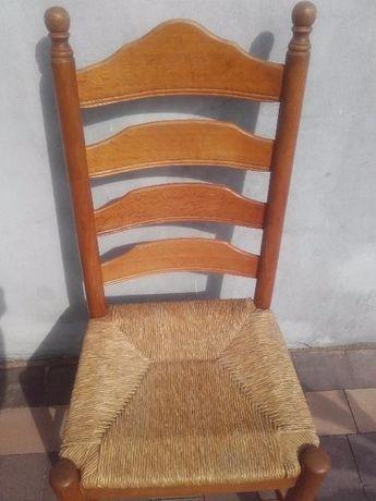 Krzesła dębowe - 4 szt