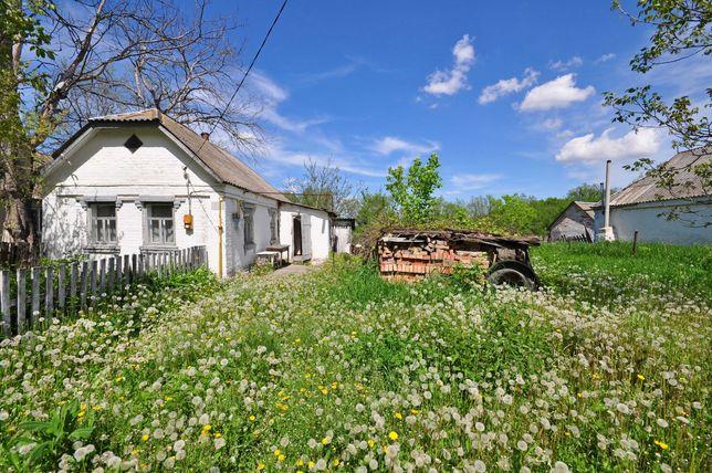 Кирпичный дом с. Золотуха, огород в озеро, 800м от трассы Киев-Сквира