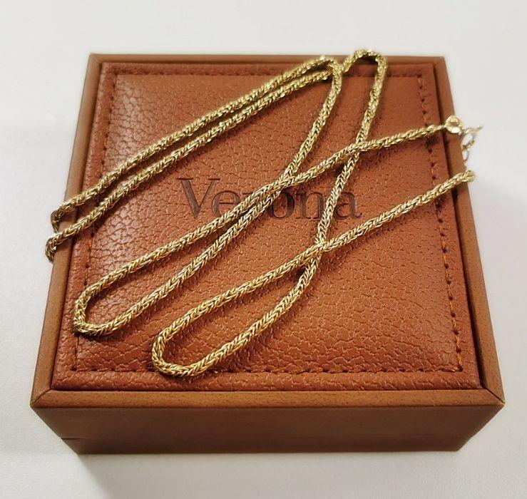 Złoty łańcuszek próby 750 dł. 60 cm! Nowy Dwór Mazowiecki - image 1
